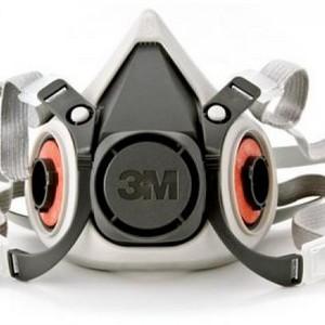 Respirador semifacial reutilizável 6200